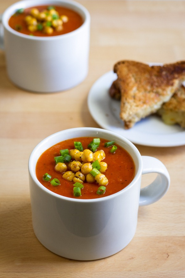 roasted red pepper soup | edible perspective