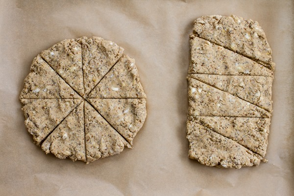 Lemon Poppy Seed Scones | edibleperspective.com #glutenfree