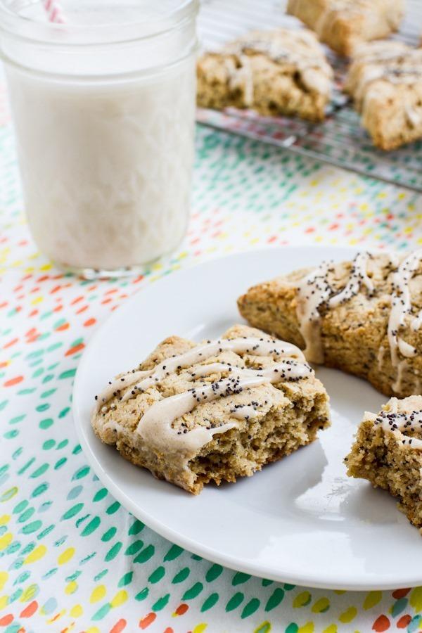 Breakfast Friday | Gluten-free Lemon Poppy Seed Scones ...