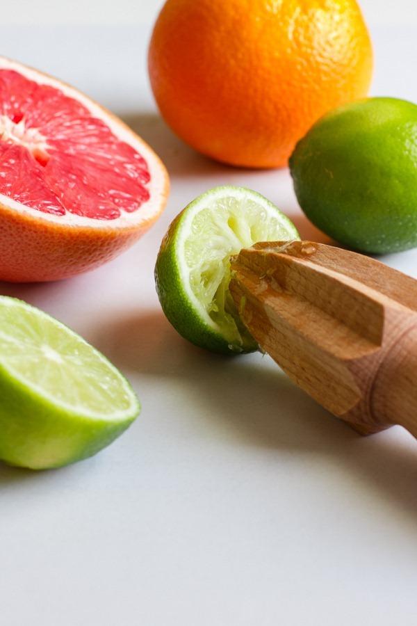 honey lime citrus parfait // edible perspective
