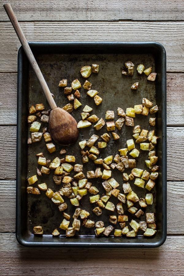 Potato Veggie Breakfast Tacos |edibleperspective.com