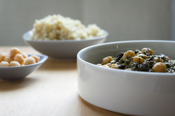 chana saag | edible perspective