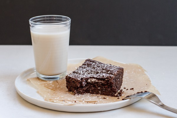 The BEST Gluten-Free Brownies | edibleperspective.com