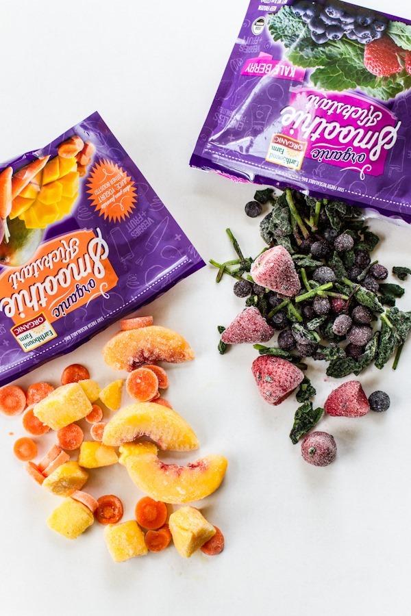 Earthbound Farm Organic Smoothie Kickstarts   edibleperspective.com