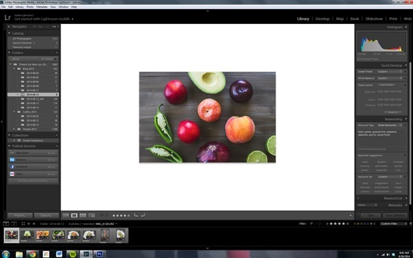 Food Photography Tip of the Week - background display color | edibleperspective.com