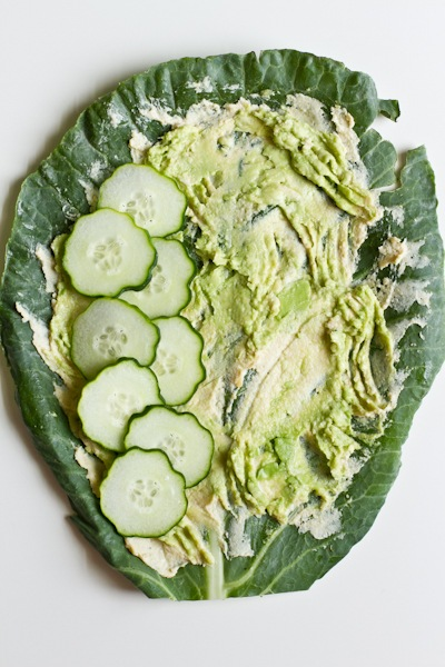 Collard Veggie Wrap | Edible Perspective