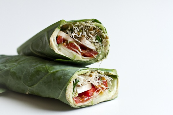 Collard Veggie Wrap | Edible Perspective