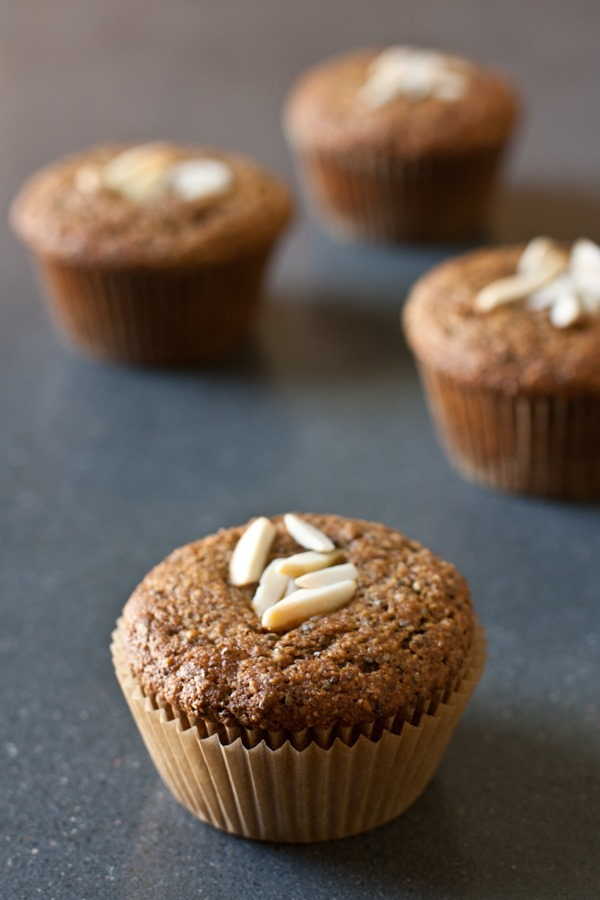 10 recipes for spring - orange almond chia muffins // edible perspective