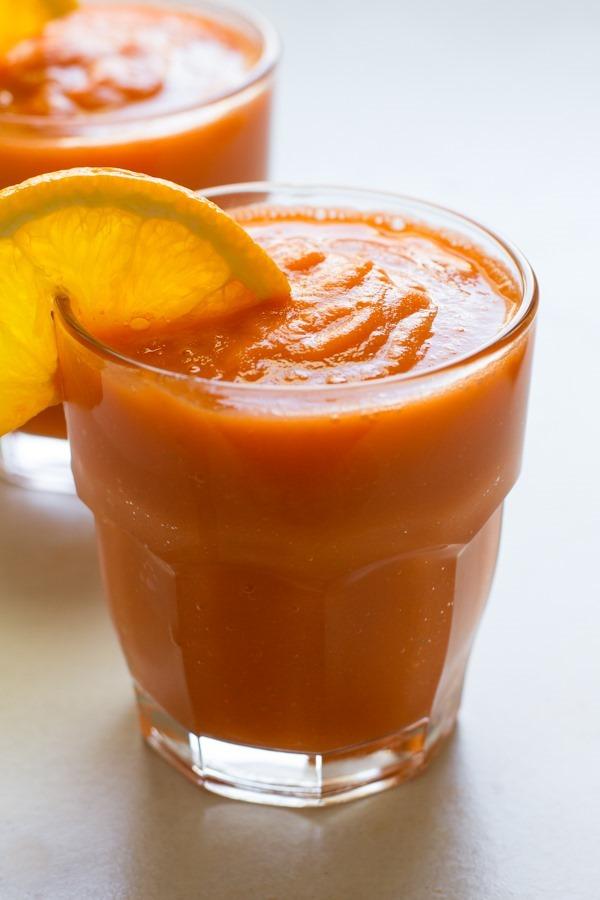 carrot apple banana smoothie // edible perspective