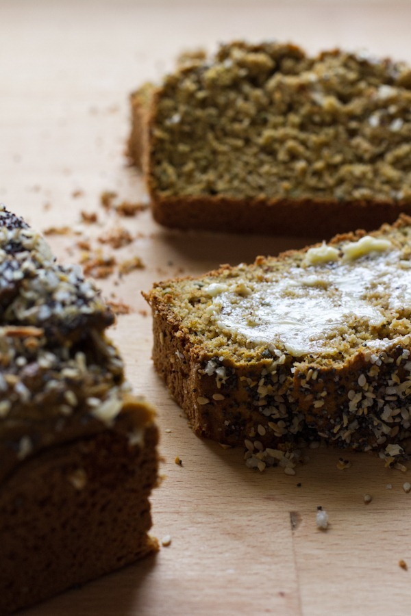 Rosemary Everything Quick Bread | edible perspective