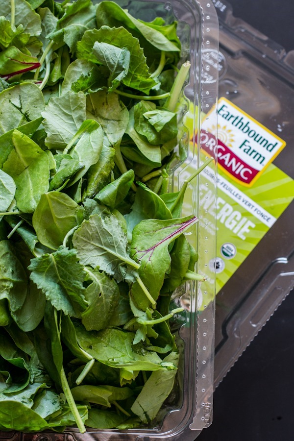 Pistachio Rosemary Pesto with Power Greens | edibleperspective.com