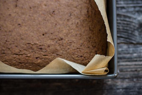 Breakfast Friday >> Gingerbread Buckwheat Cake | edibleperspective.com