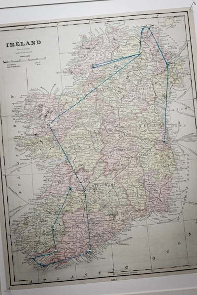Ireland Map Route - Edible Perspective-10