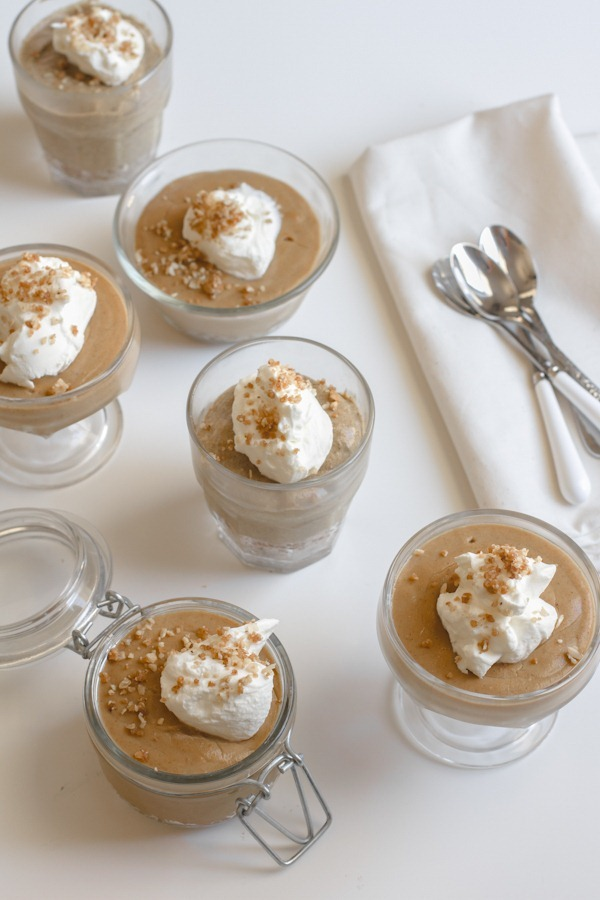 vanilla bean chai spice pumpkin pudding | edible perspective
