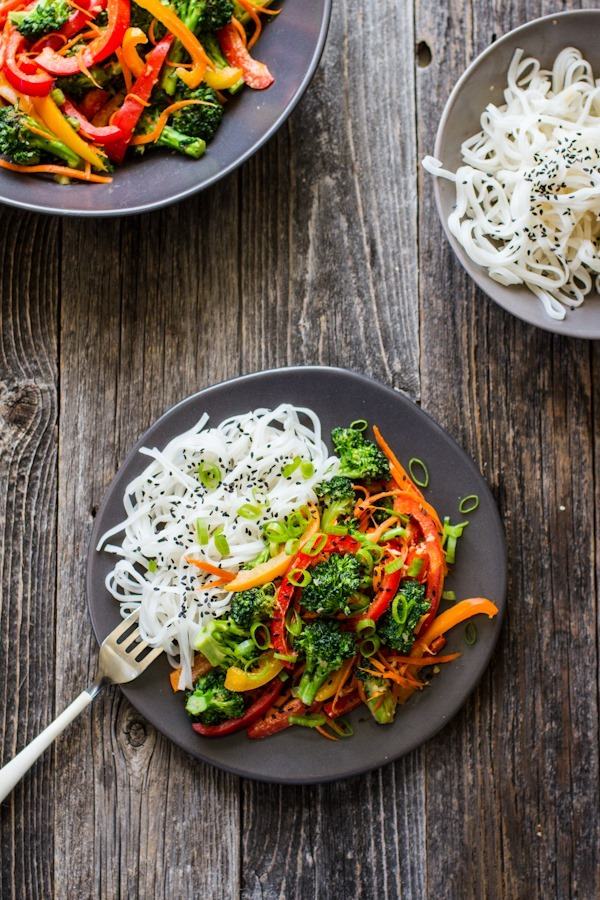 Easy Broccoli Stir Fry | edibleperspective.com #glutenfree #vegan