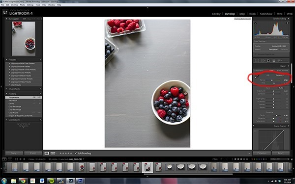5 Edits in Lightroom for Food Photography | edibleperspective.com