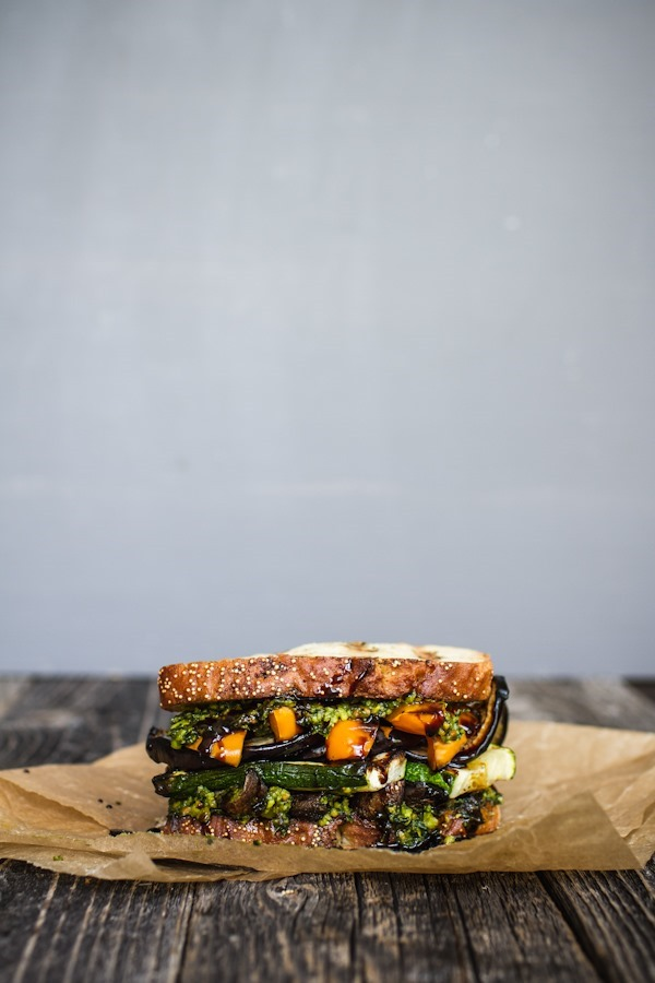 The Ultimate Veggie Sandwich | edibleperspective.com #vegan #glutenfree
