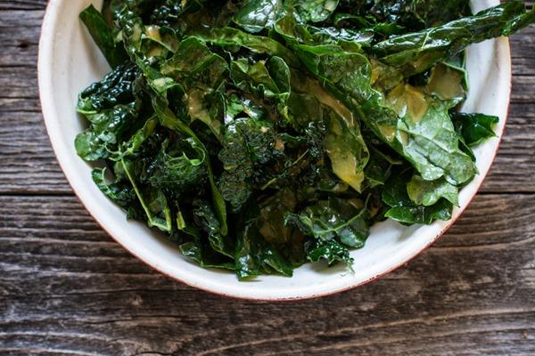 Sweet Orange Kale Salad   edibleperspective.com