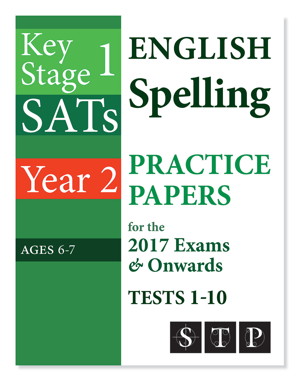 KS1 SATs English Spelling Practice Papers Tests 1-10
