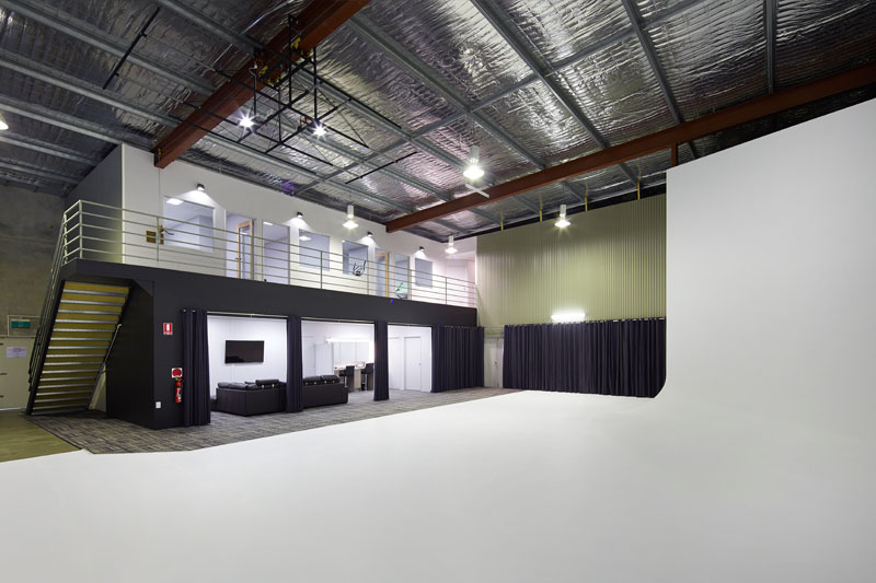 large photo studio for hire