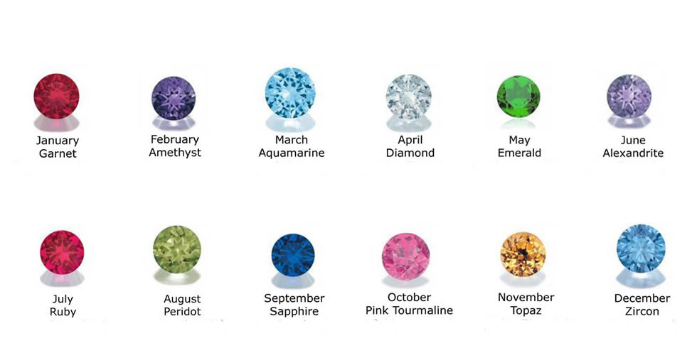 Click Here For The Birthstone Accent Options