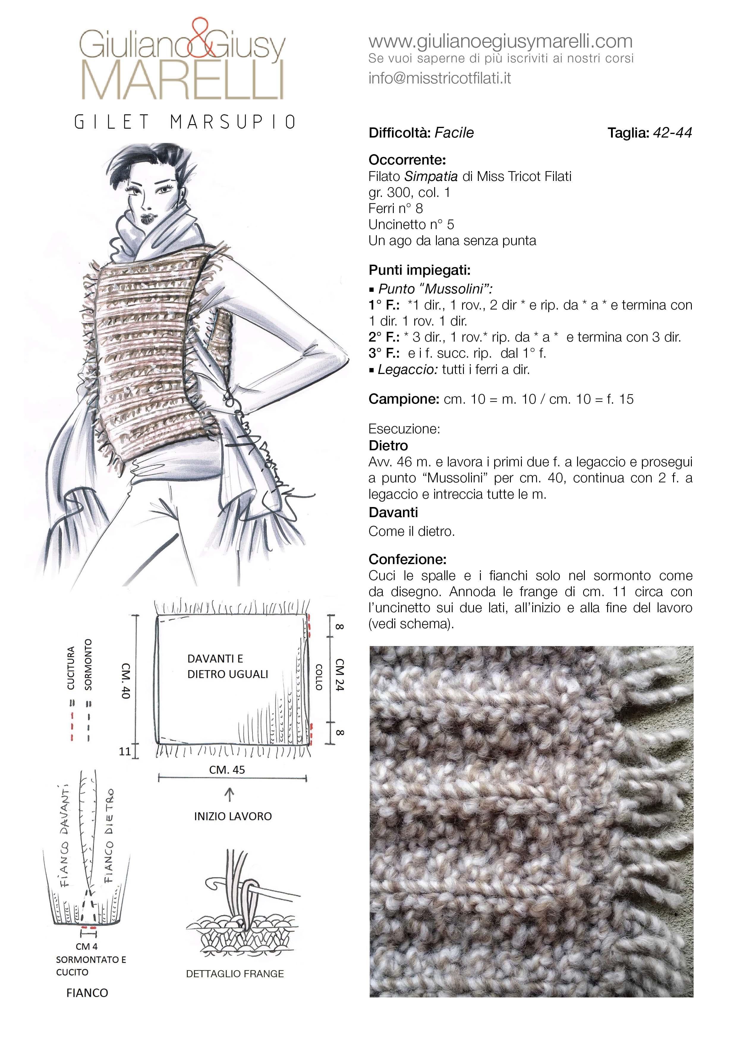 Per chi vuole iniziare l avventura della maglia! Modelli dalle costruzioni  semplici valorizzati dal filato 8620cecd2779