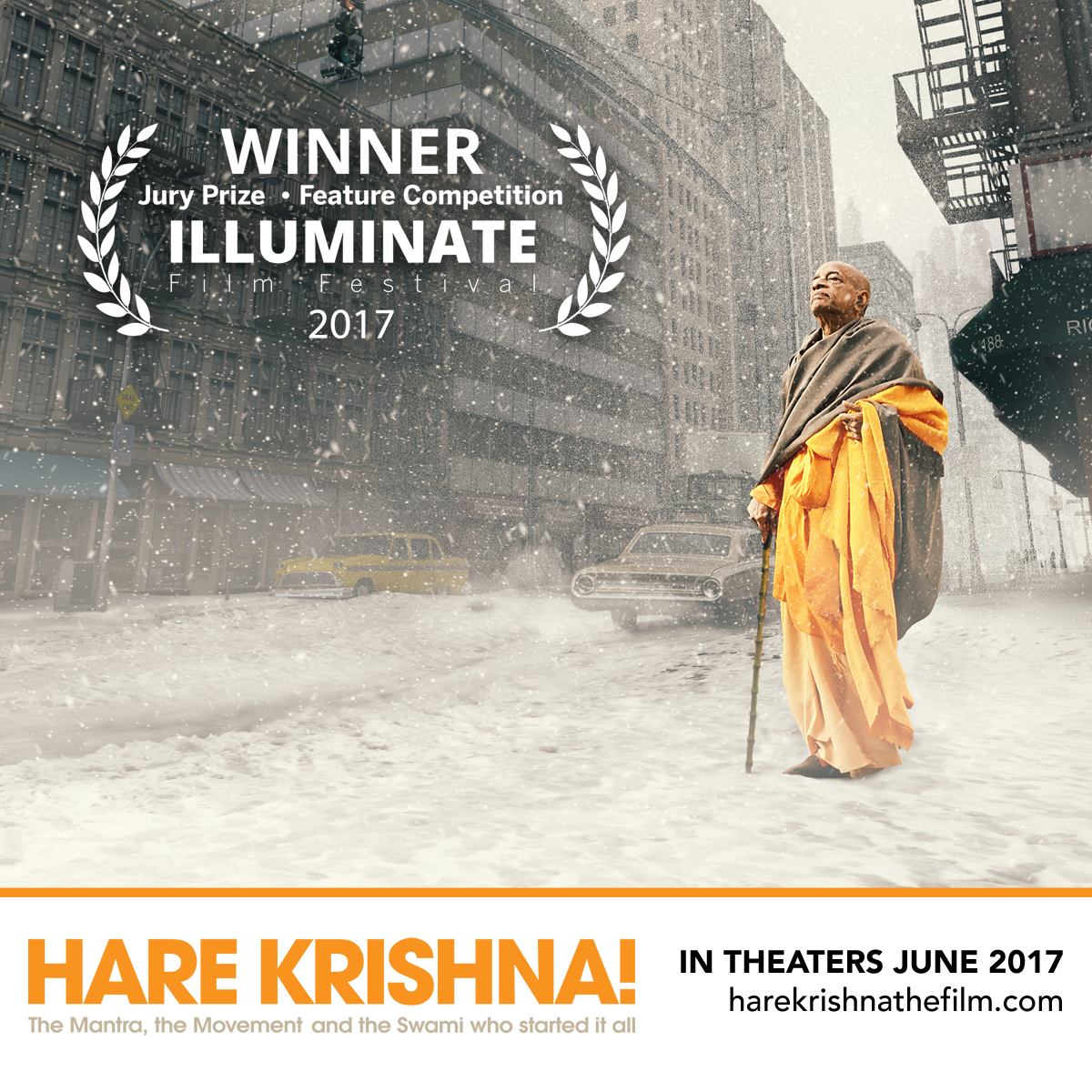Hare Krishna -The Film: A unique film in Houston on July 7, 8 and 9 @ 800 Aurora St.