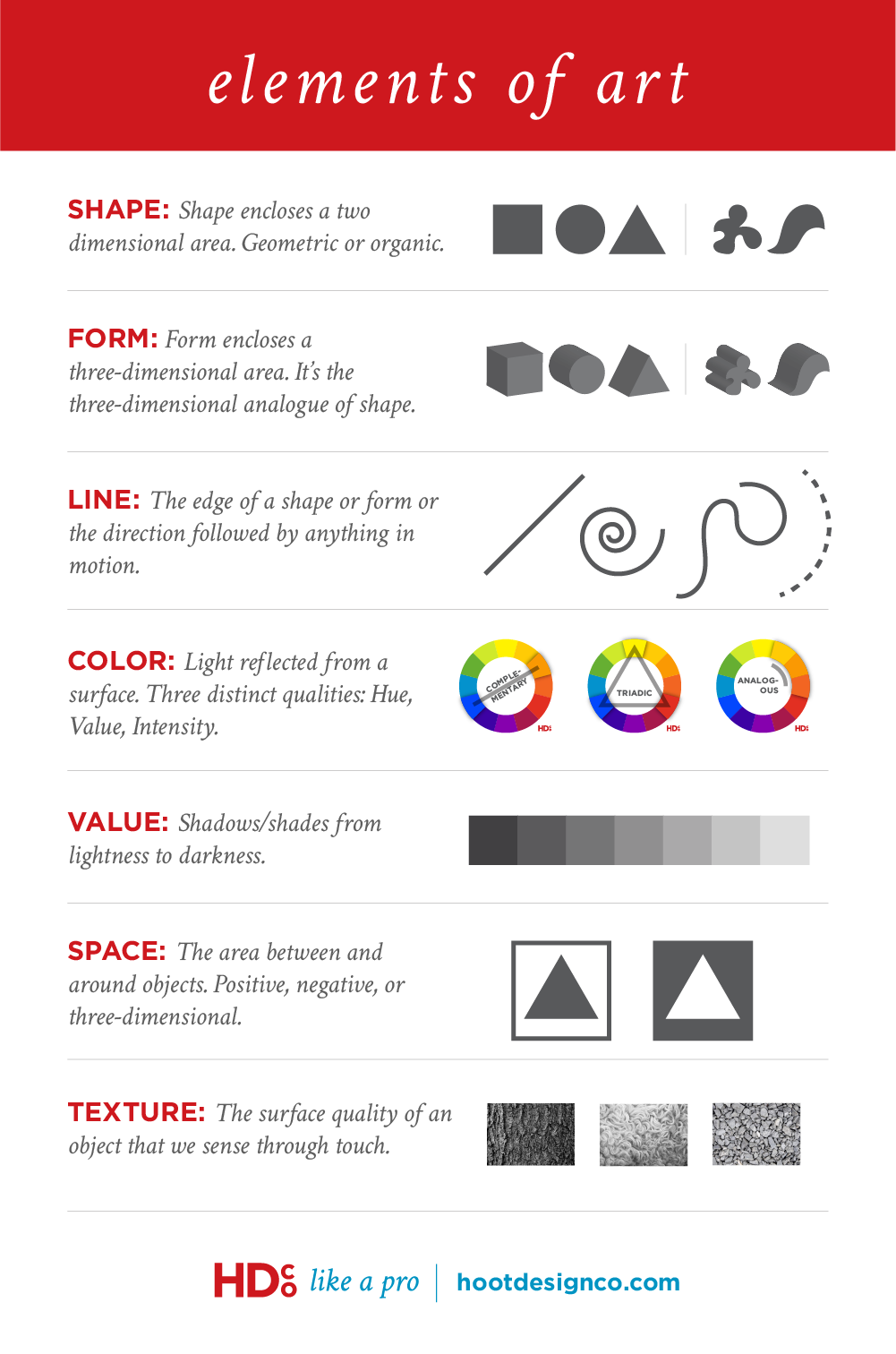 Elements Of Art And Examples : Color psychology is bullsh t hoot design co web