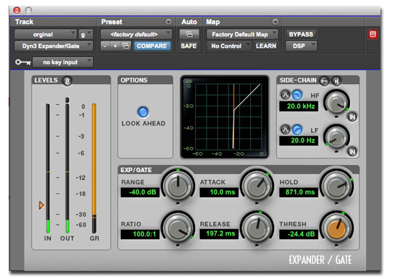 Pro-Tools-Noise-Gate