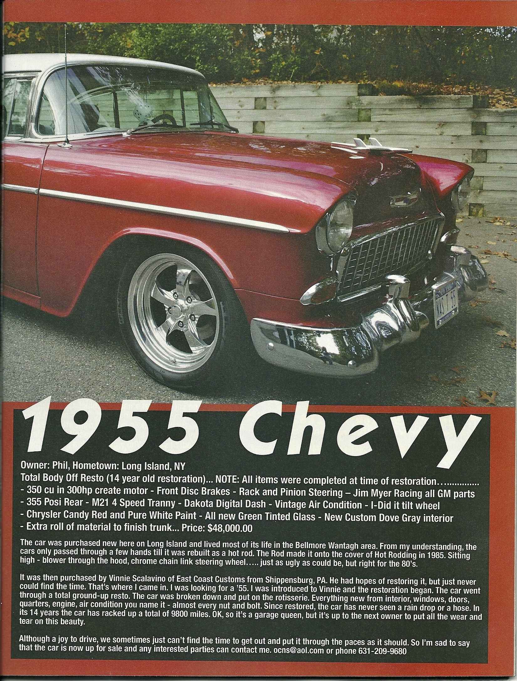 Gallery Carlisle Customs Classics 1966 Chevy Bel Air For Sale 1955