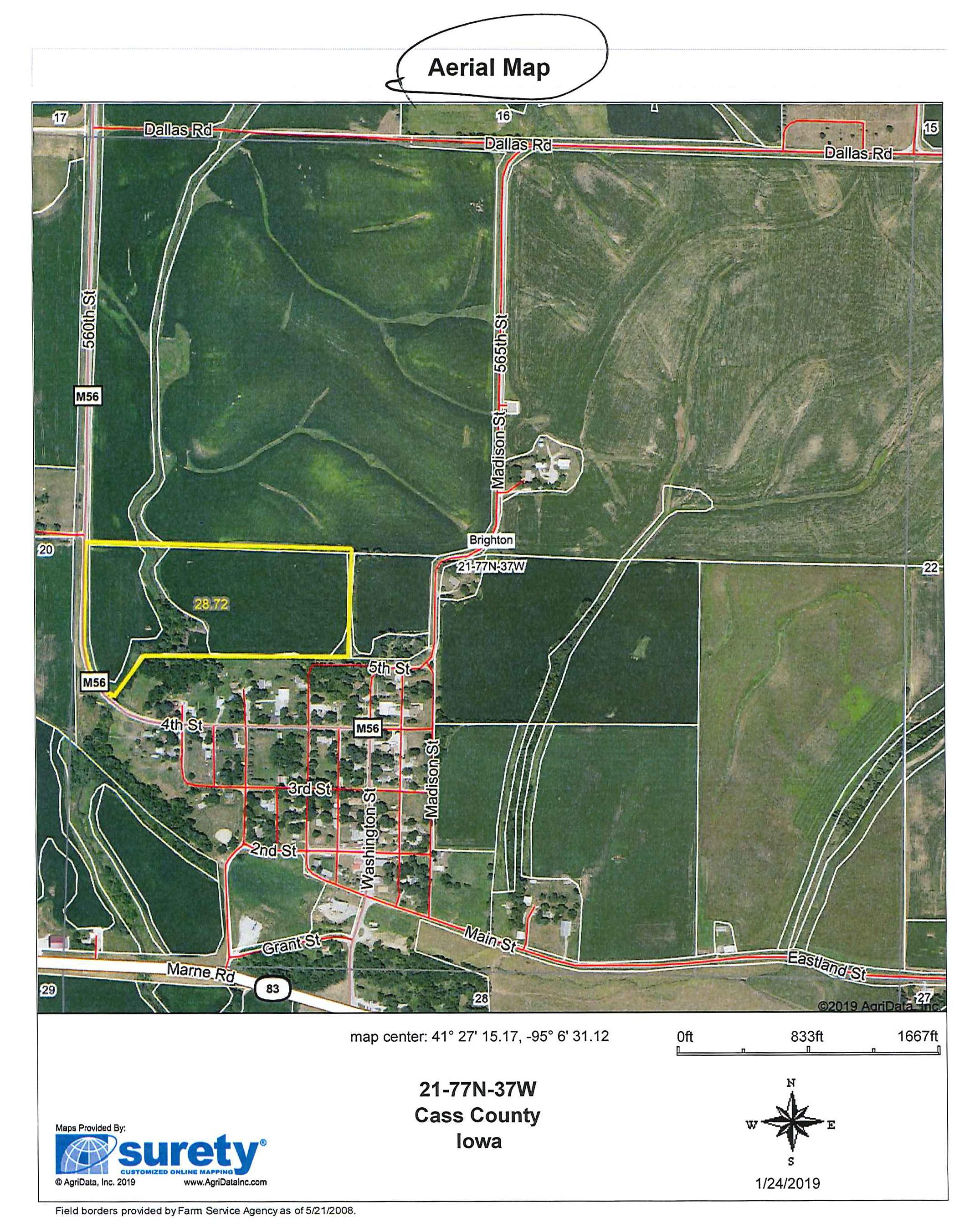 Audubon Iowa Map.Farms Wayne Hansen Real Estate