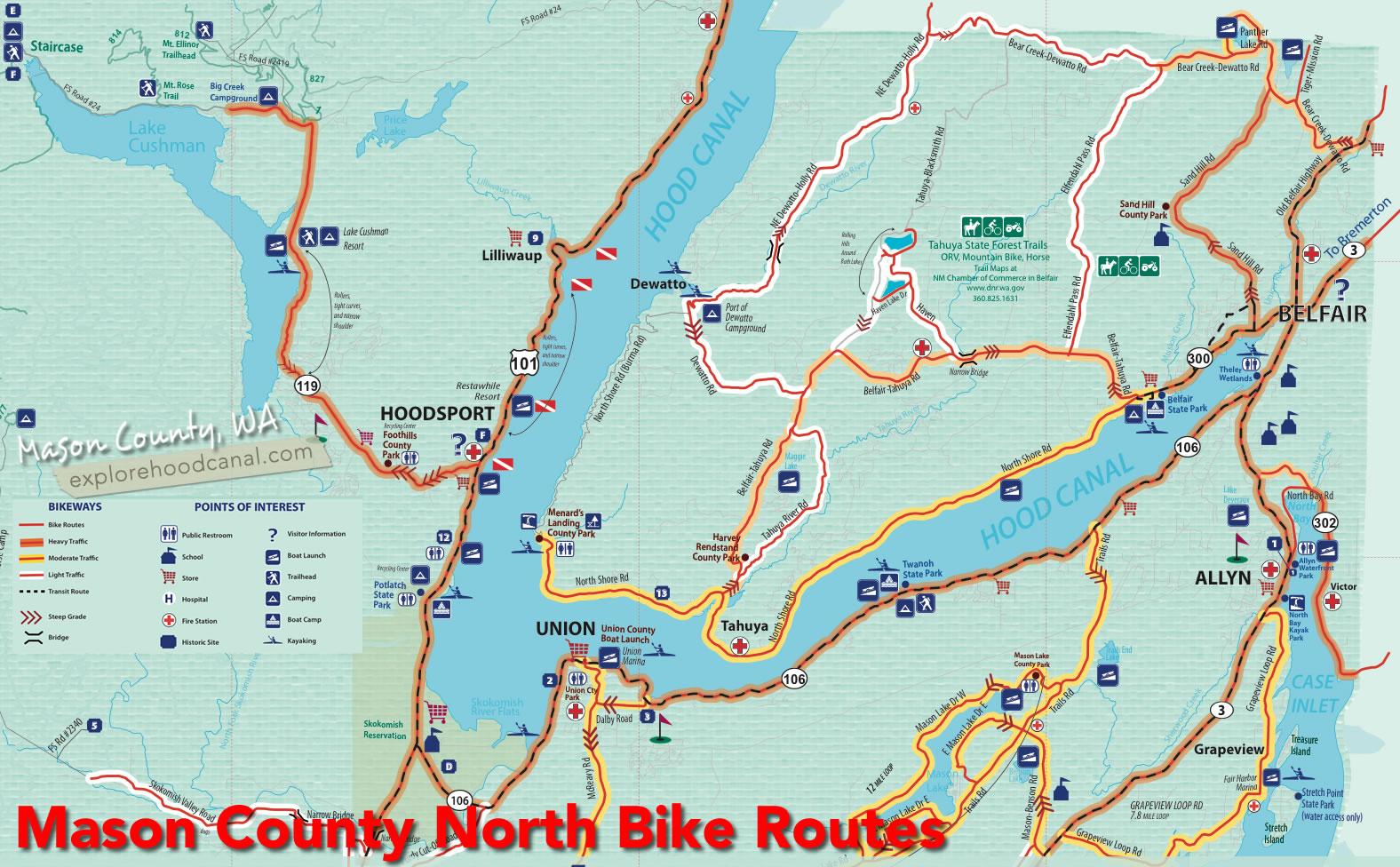 Biking Explore Hood Canal