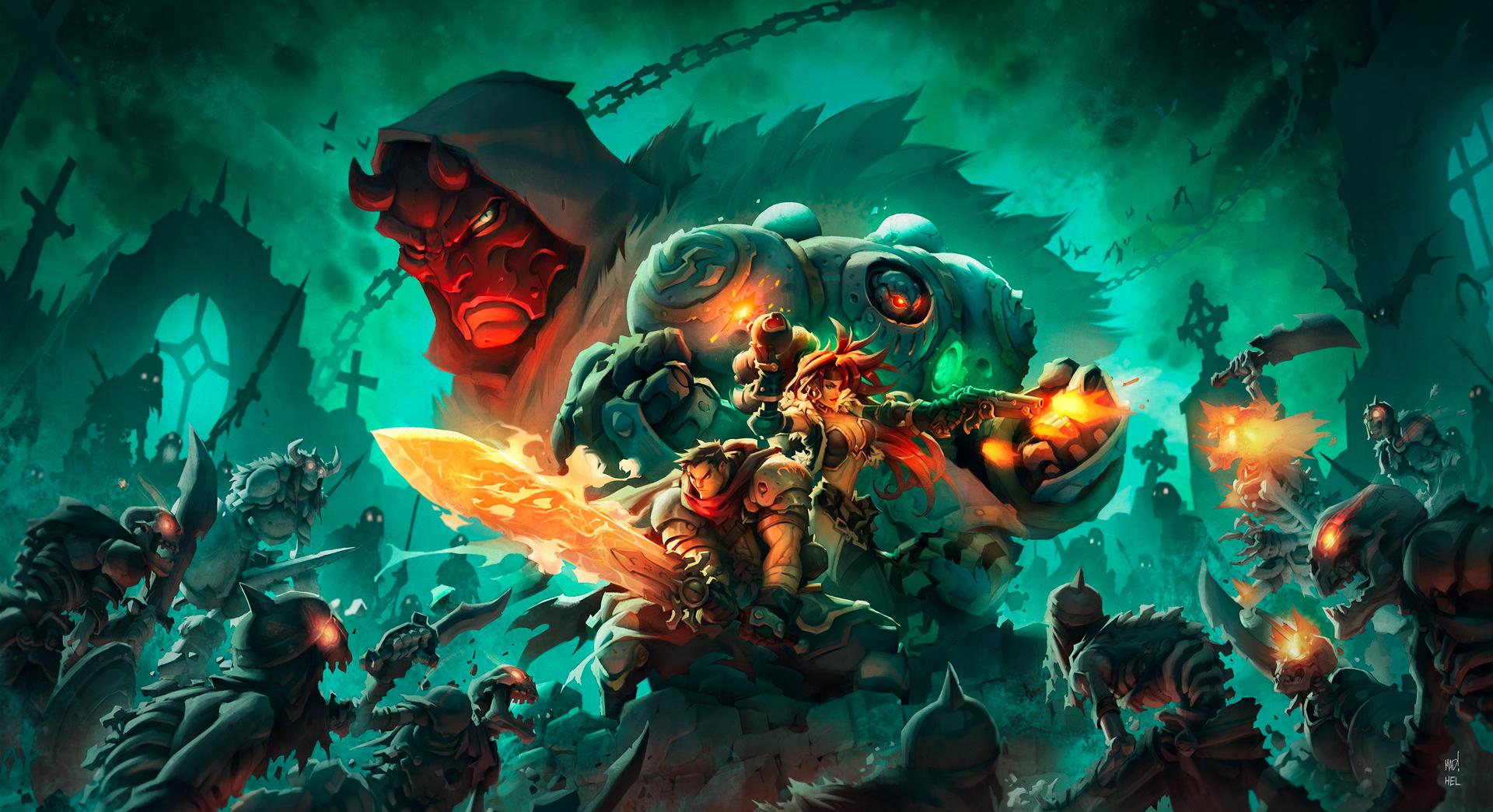 Exclusive Kickstarter Wallpaper Battle Chasers