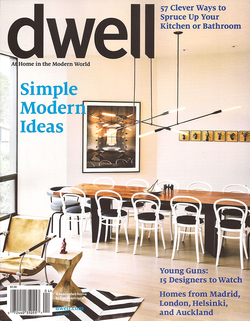 Jonah Wards Specimens Included On Cover Of Dwell Magazine Ward