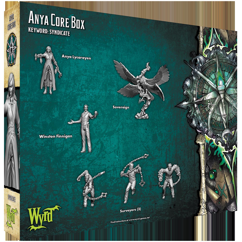 GAME STATE Singapore Anya Core Box Malifaux
