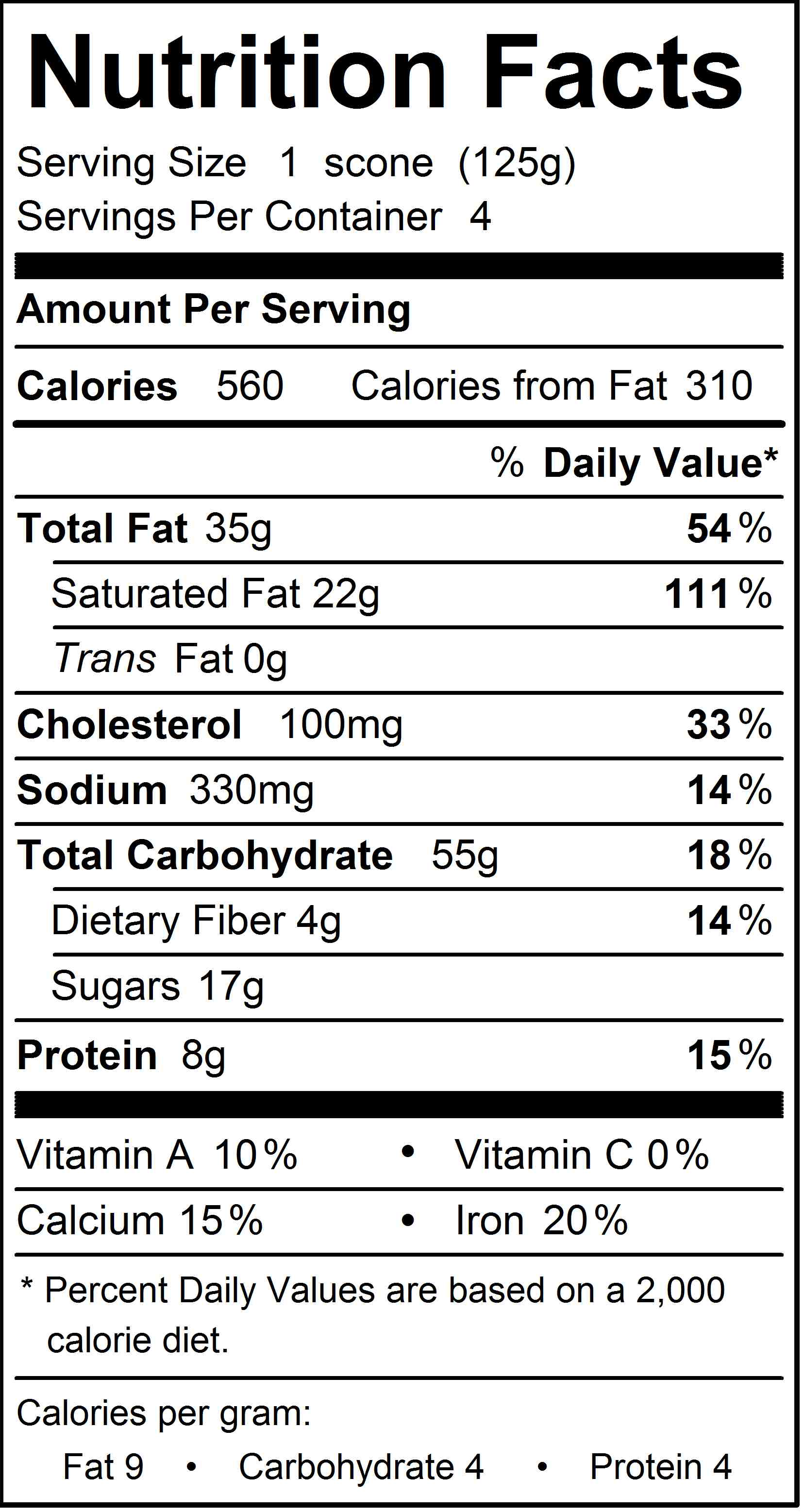 Nutritional Information Milk Chocolate Chips - Nutrition Daily