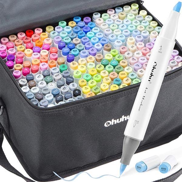OHUHU标记216种颜色集