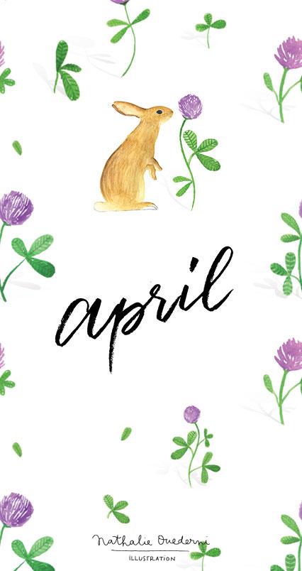 March S Projects April Free Desktop Wallpaper Nathalie