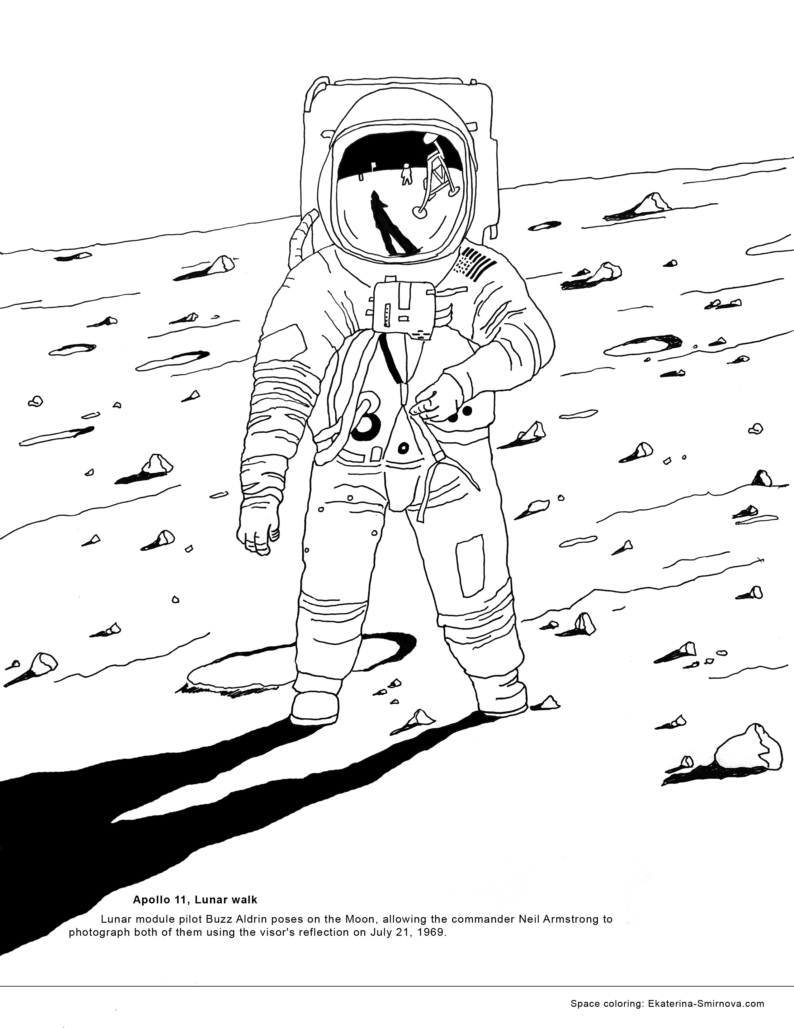 coloring pages of space walkers | Coloring Book for Space Missions - Juno, Rosetta, Cassini ...