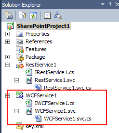 SharePoint - here is a REST service Project Item template