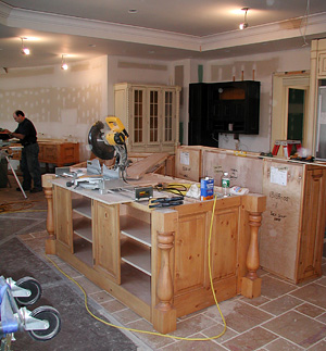 kitchen installation 2
