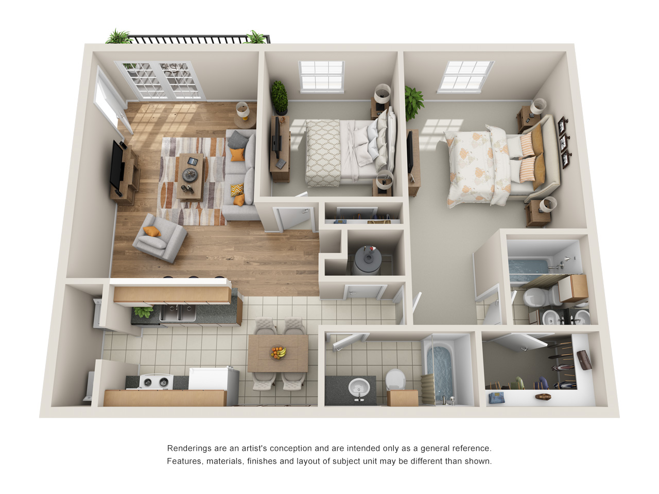 Floorplans Vineyards Apartment