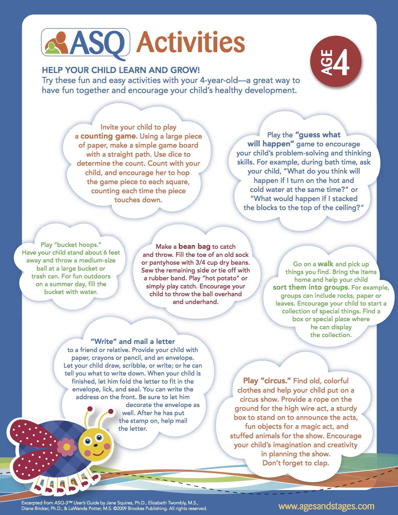Developmental Activities — Help Me Grow-Michigan Child Development ...