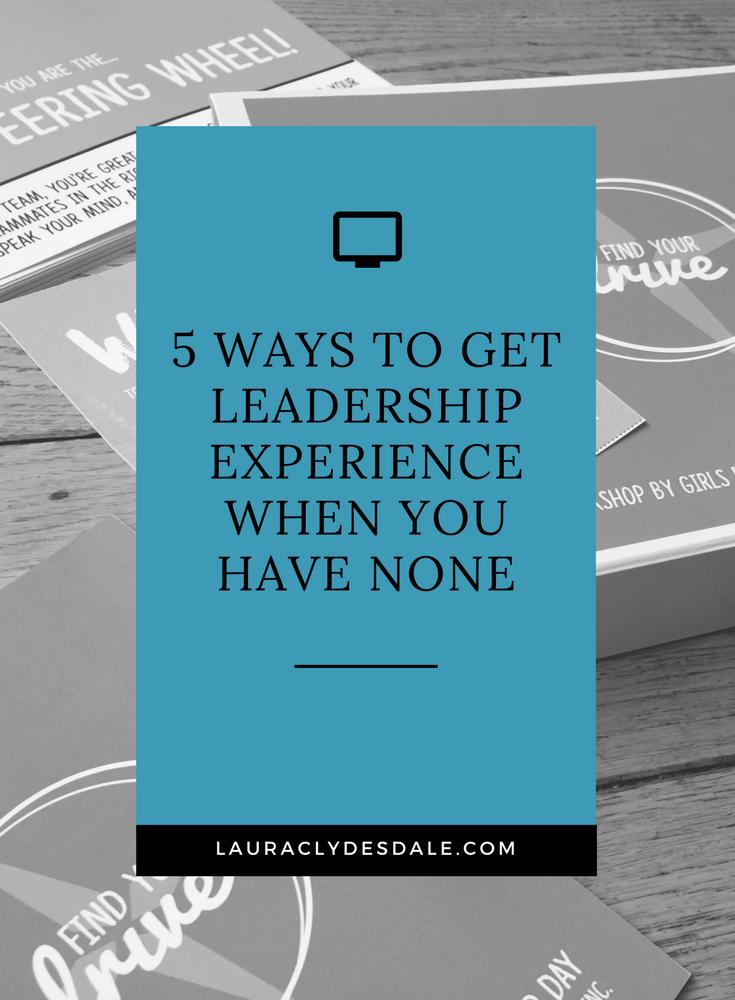 Leadership For College Applications   Leadership Experience   Teen Leadership   Girls Leadership