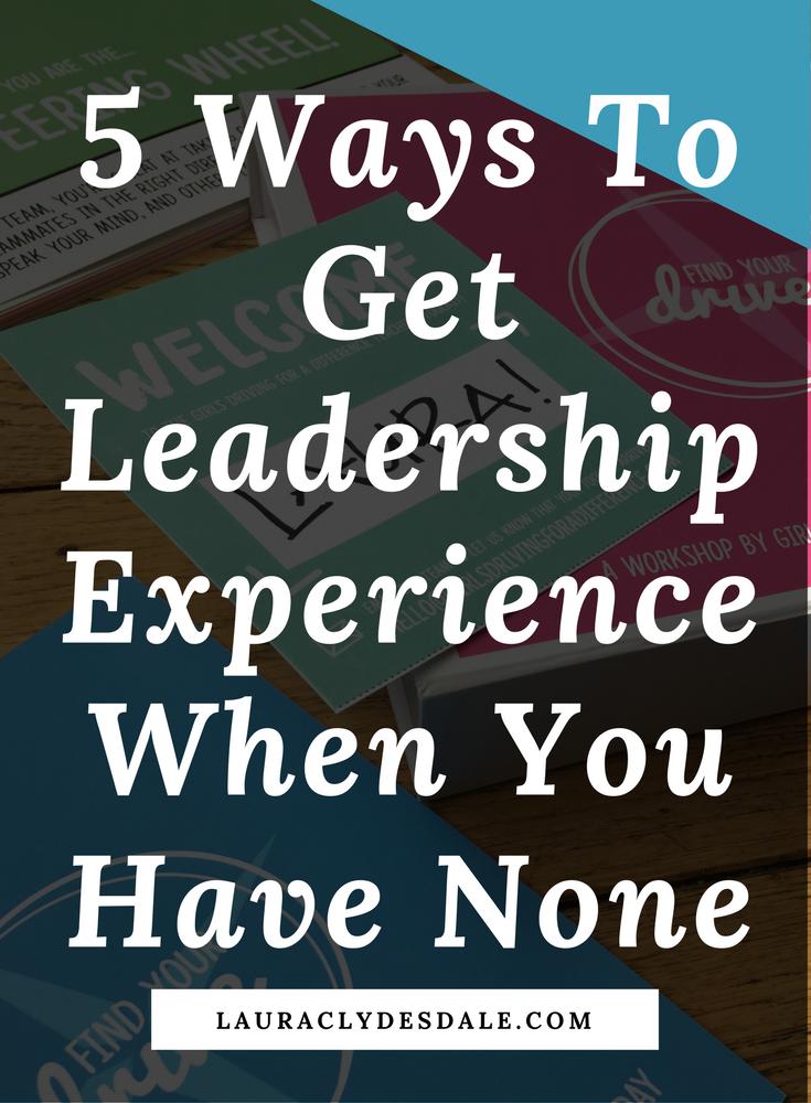 Leadership For College Application   Leadership Experience   Teen Leadership   Girls Leadership
