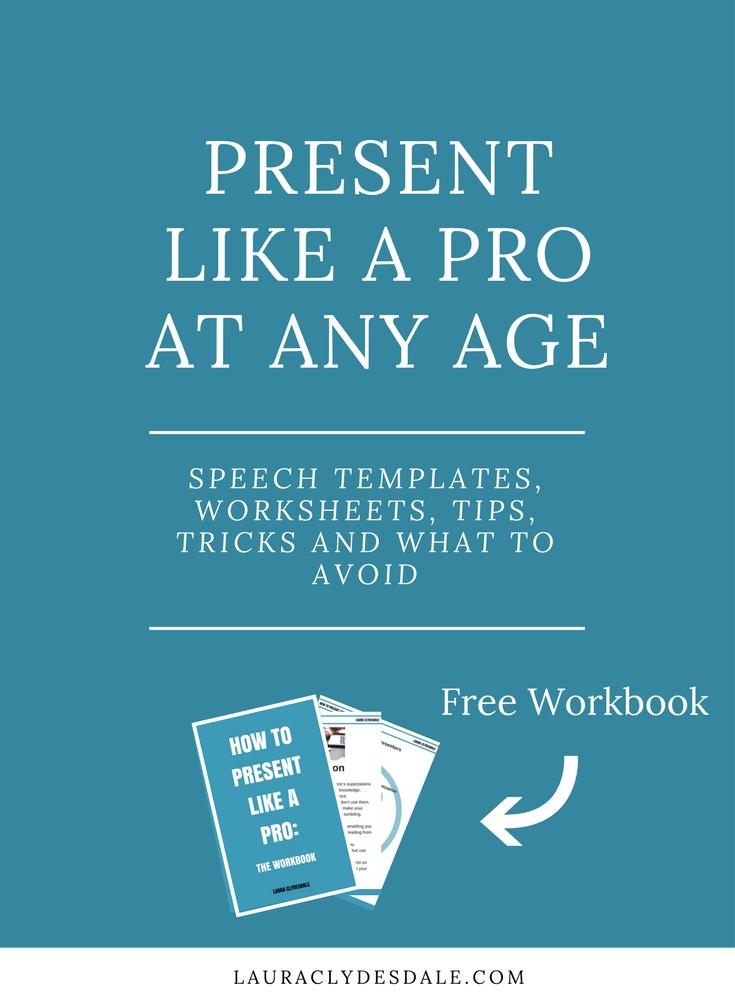 Presentation Skills | Presentation Templates | Presentation Tips + Tricks | Present Like A Pro |Girls Leadership