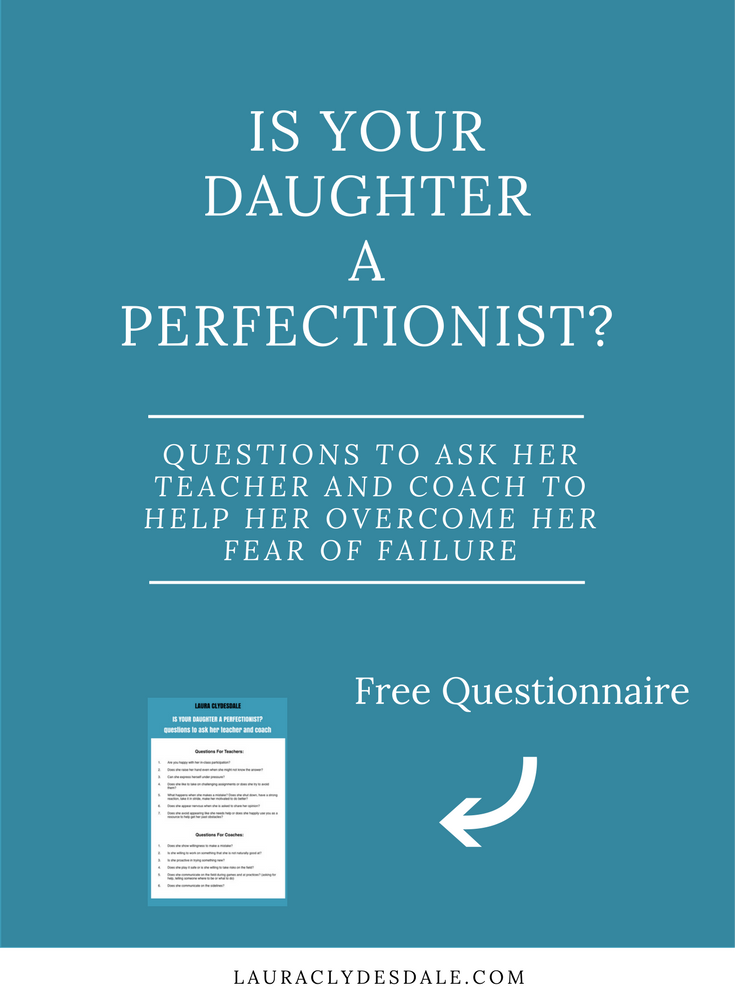 Girls Leadership | Perfectionism Questionnaire | Perfectionism | Fear of Failure | Bravery