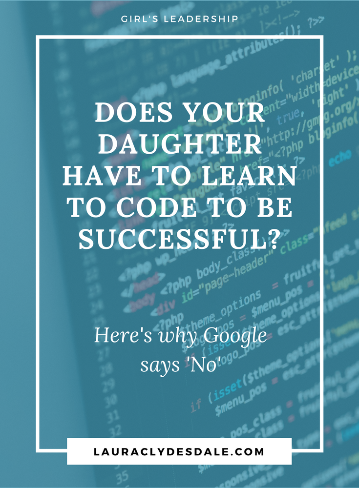 Do Girls Need To Code To Be Successful? | Coding For Girls | Closing The Technology Gap | Coding For Kids | Girls Leadership | #codingforkids | #closingthetechnologygap | #girlsleadership