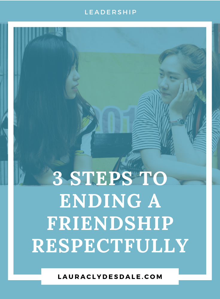 How To End A Frienship | How To Protect Personal Boundaries | Ending Friendships Respectfully | Boundary Setting Is Key For Emotional Health | 3 Steps To Ending A Friendship | Girls Leadership | #EndingFriendships | #SettingBoundaries | #girlsleadership