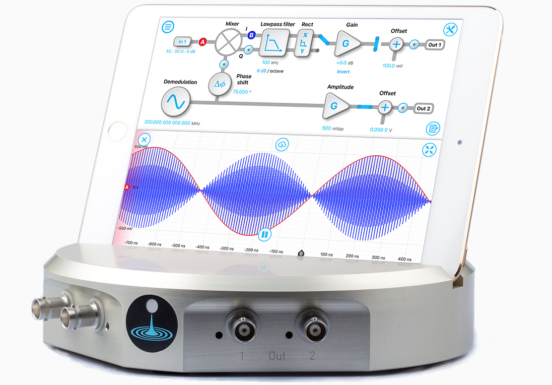 Lock-in Amplifier with Moku:Lab